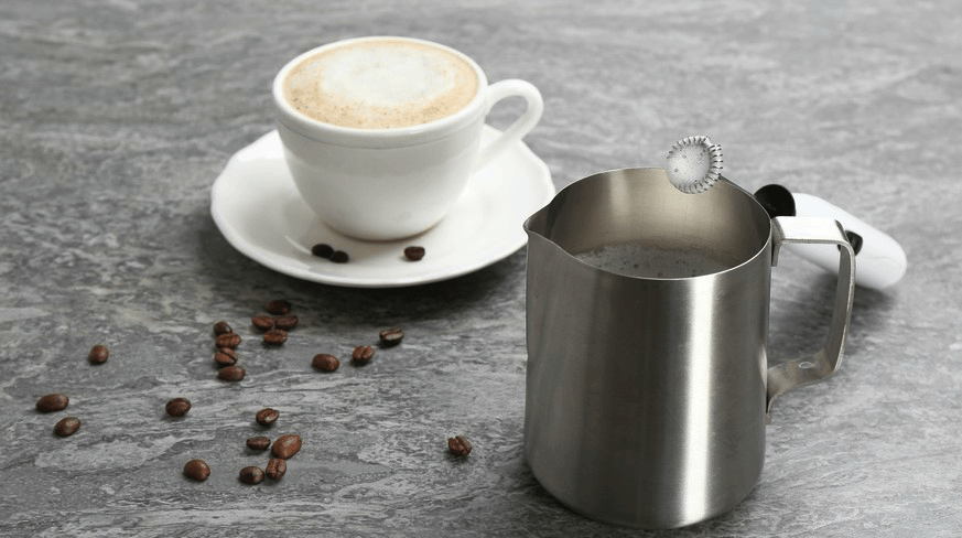 How to use milk frother