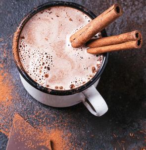 Make hot chocolate