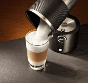 Use Jura frother
