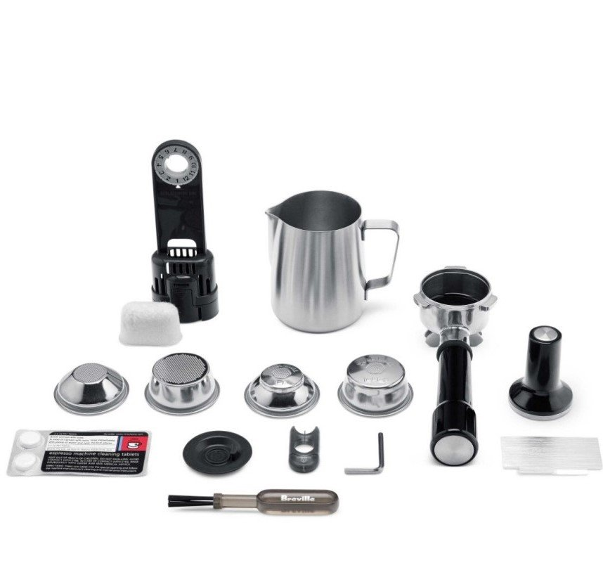 Barista Express included accessories