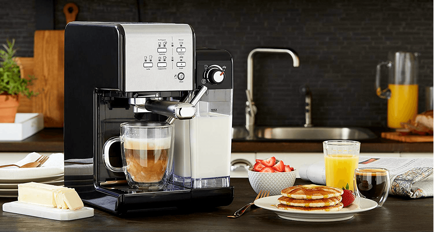 Best home coffee machines with milk frother