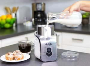 Use Mr. Coffee frother