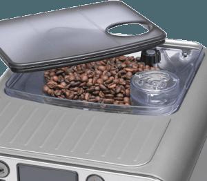 Gaggia Brera coffee bean hopper