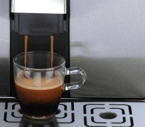 Gaggia Brera cup of coffee