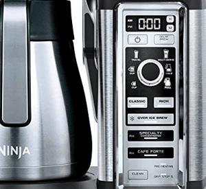 Ninja Coffee Bar CF097 control panel